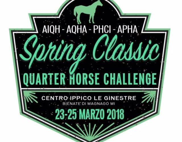 23-25 marzo 2018 | Spring Classic Quarter Horse Challenge