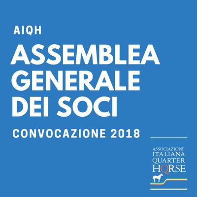 Convocazione dell'Assemblea Generale dei Soci