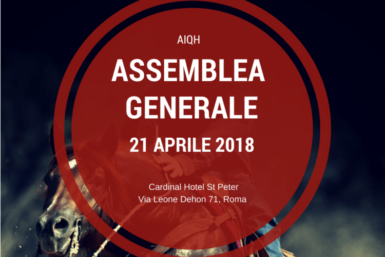 21 aprile | Convocazione Assemblea Generale dei Soci AIQH
