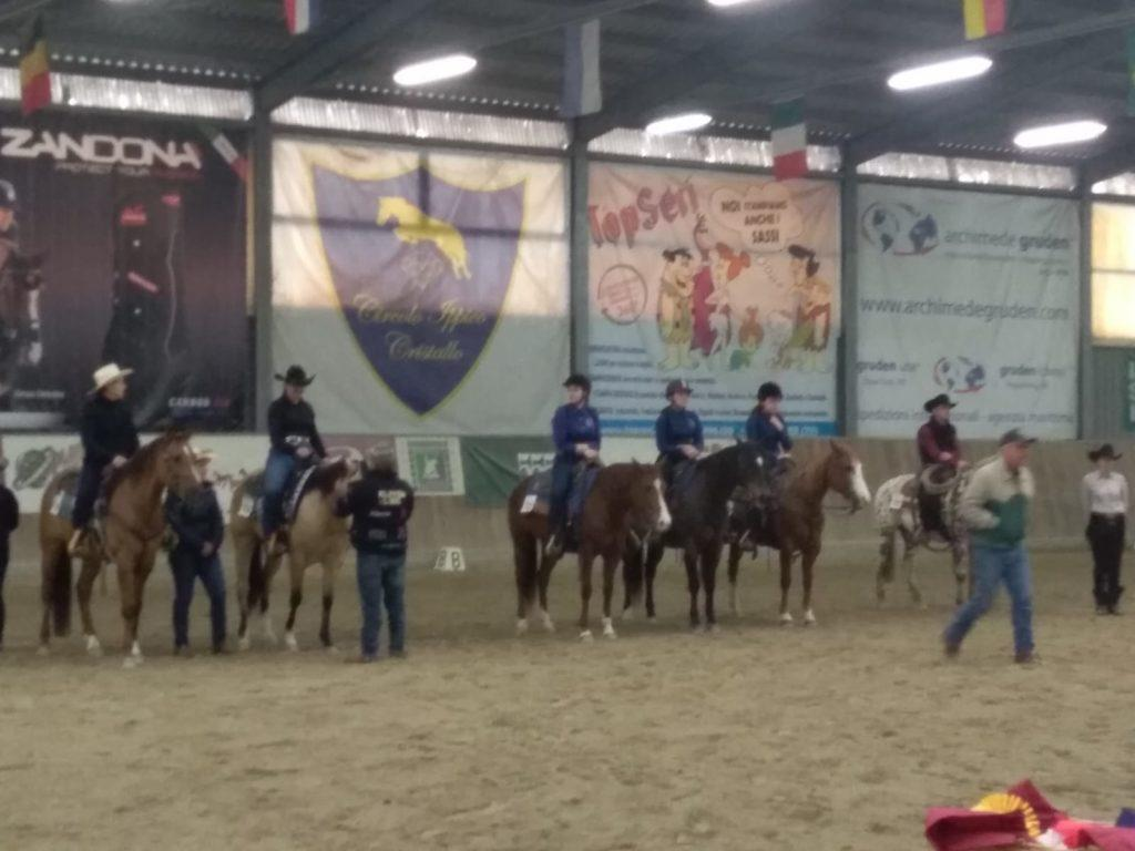 1 tappa campionato AIQH Regione Veneto
