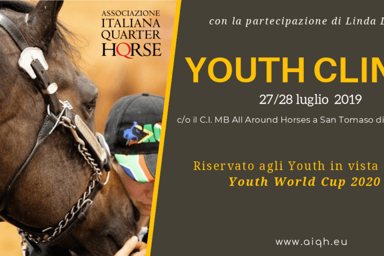 Youth |Clinic 27/28 luglio 2019 con Linda Long