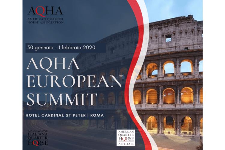 30 Gennaio – 1 Febbraio, 2020 |AQHA European Summit Roma