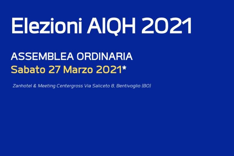 Elezioni AIQH 2021