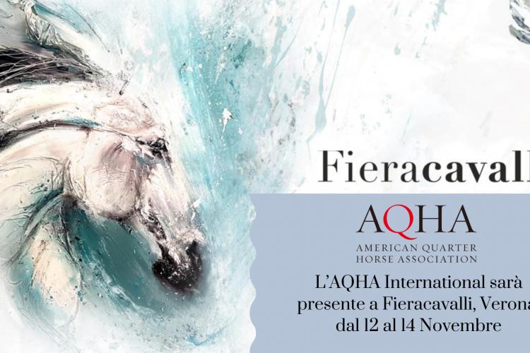 Fieracavalli – AQHA International comunicato stampa